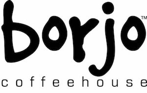 Borjo Coffeehouse Logo and Website Link
